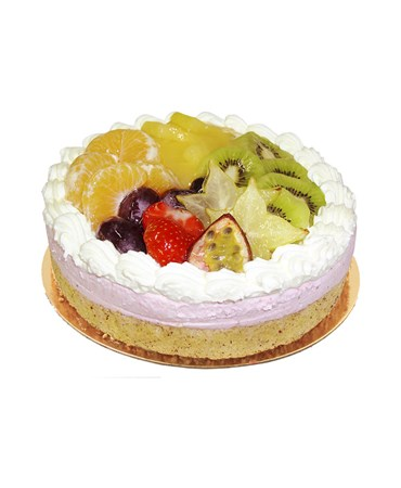 Tourte fruits divers