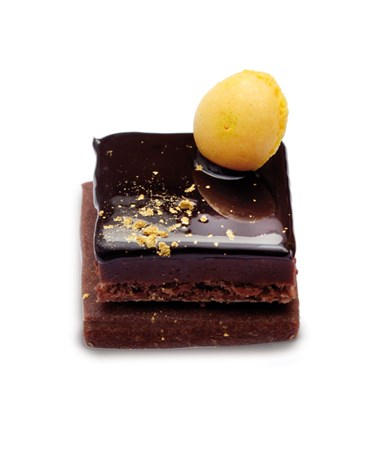 Carré choco orange