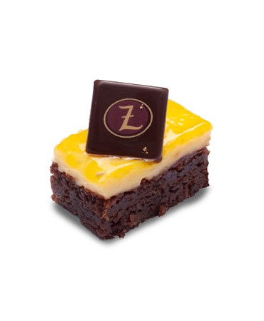 Zitronen-Brownie